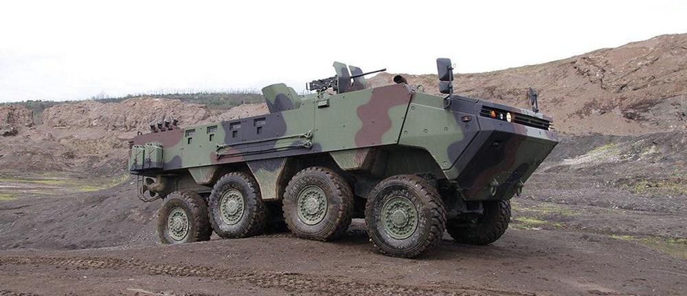 Dijital birliğin robot askeri Barkan göreve hazırlanıyor (Türkiye'nin yeni nesil yerli silahları) - 204