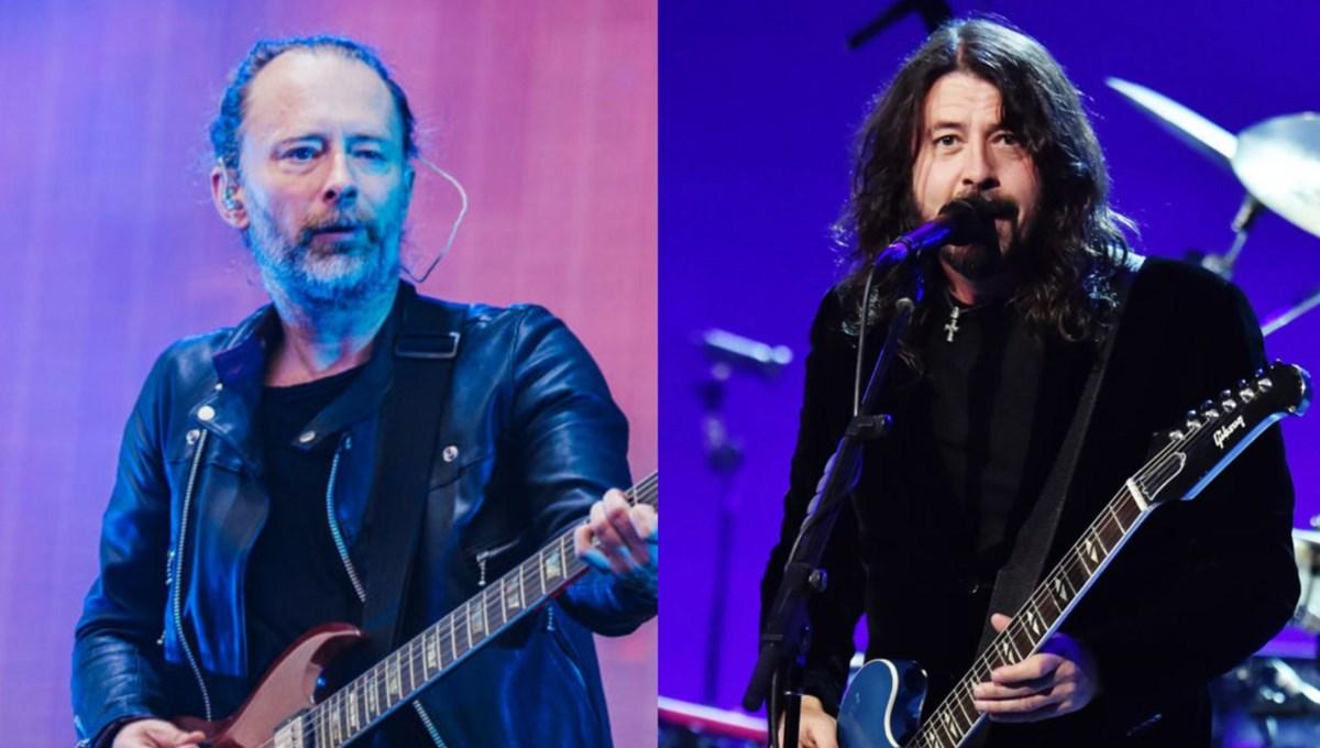 Radiohead ve Foo Fighters pandemi mağduru müzisyenlere yardım için bisiklet tasarladı