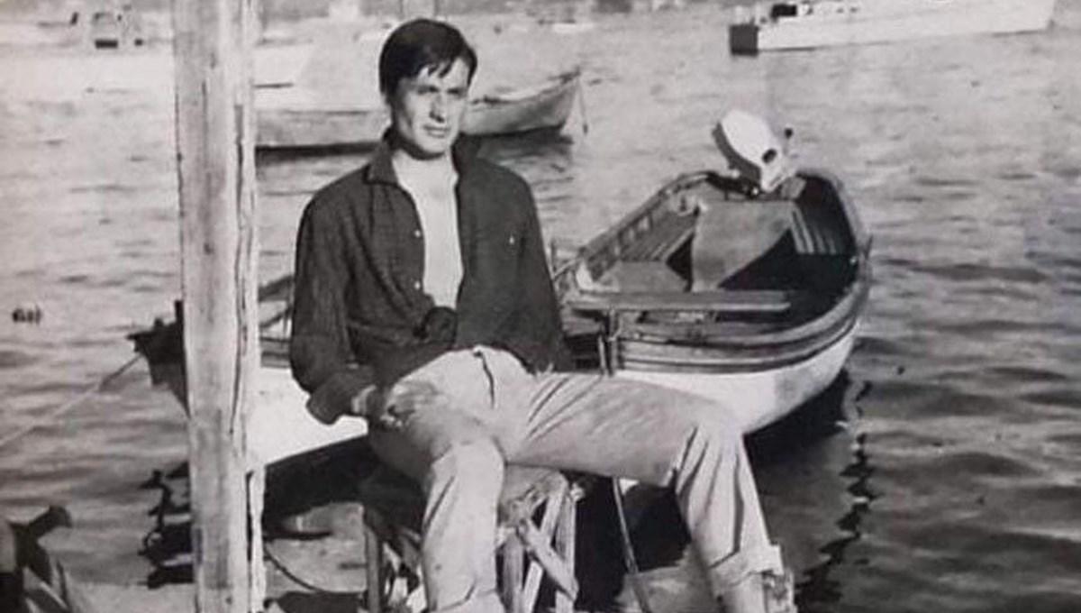 Cüneyt Arkın'dan gençlik fotoğrafı: İstanbul Bebek Koyu 1960'lı yıllar (Ünlülerin çocukluk ve gençlik fotoğrafları)