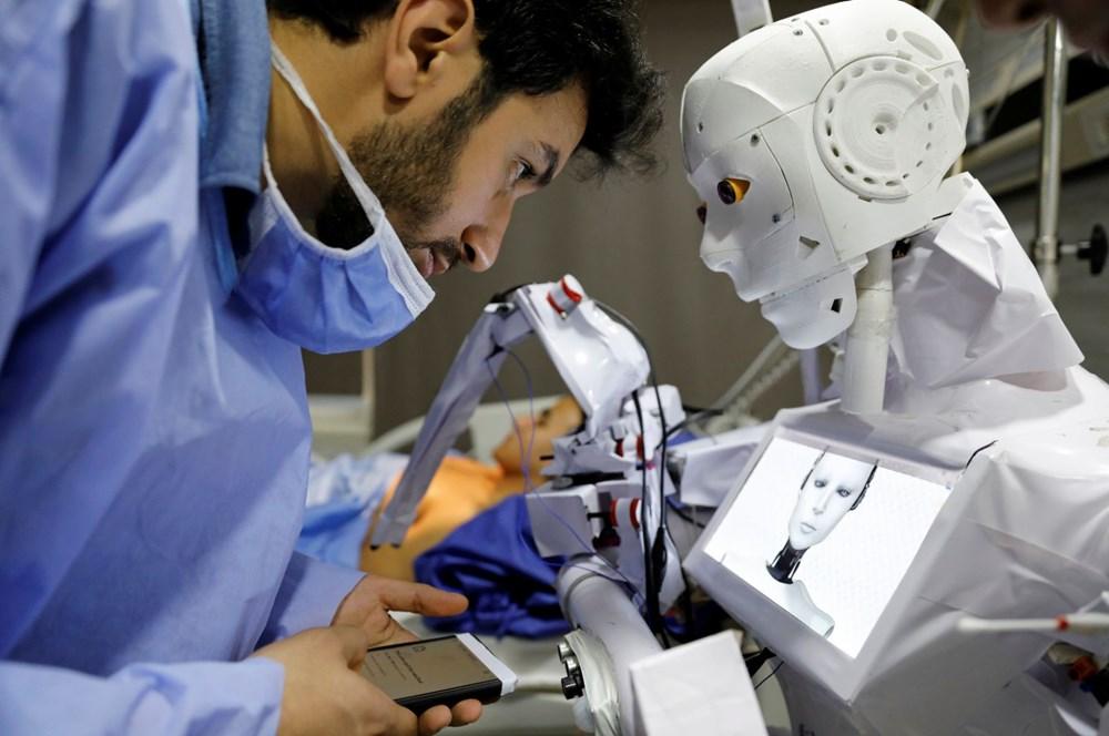 Mısır'da Covid-19'a karşı robotla mücadele - 2