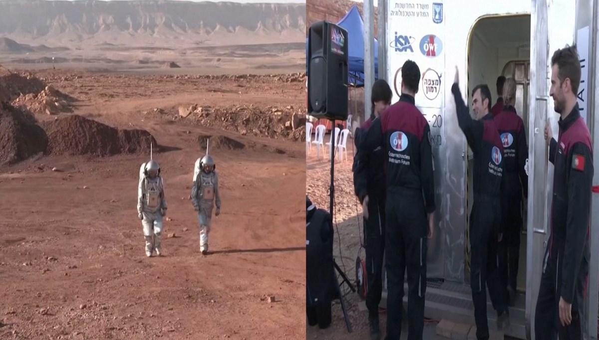 Çölün ortasında Mars'ta yaşam provası: Sahte uzay kıyafetleri giyecekler