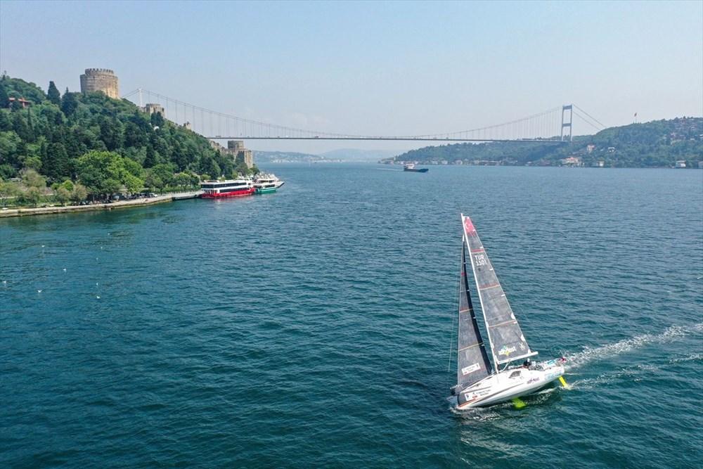 Yelkenci Tolga Pamir, rekor için Türkiye'nin 4 denizini boydan boya geziyor - 10