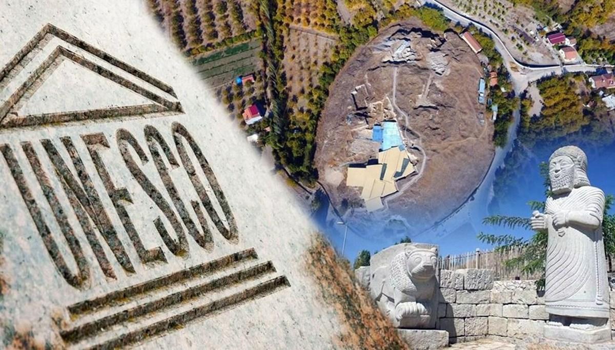 UNESCO Dünya Kültür Mirası Listesi'ne alınan Arslantepe Höyüğü'ne ilgi arttı