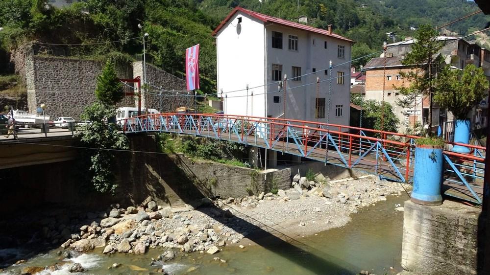 Trabzon'da tedirgin eden görüntü: Giresun'un Dereli ilçesi gibi sel riski taşıyor - 9