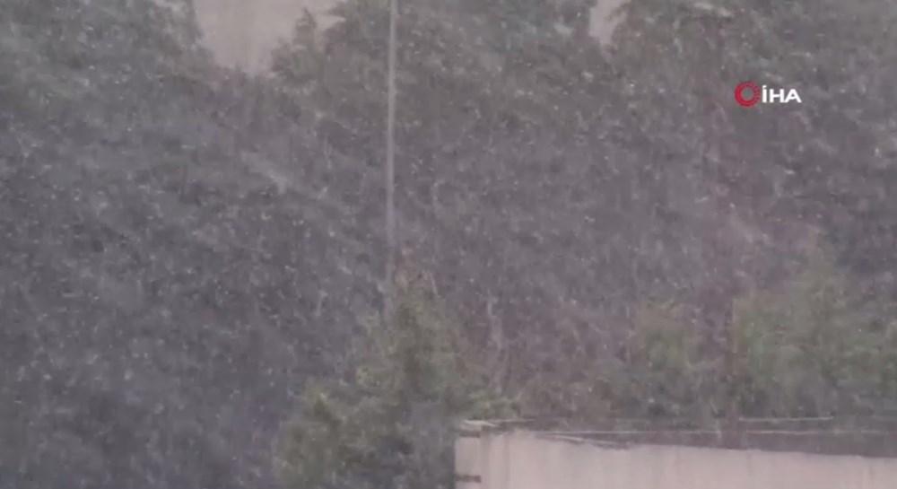 İstanbul'da beklenen kar yağışı başladı - 8