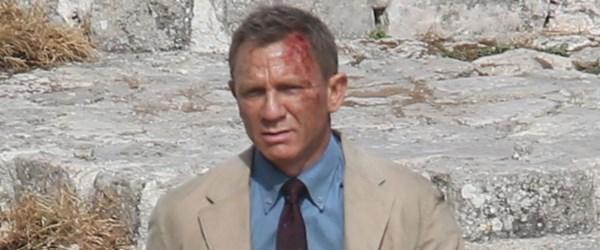 Daniel Craig kanlar içinde (Ünlülerin set halleri)