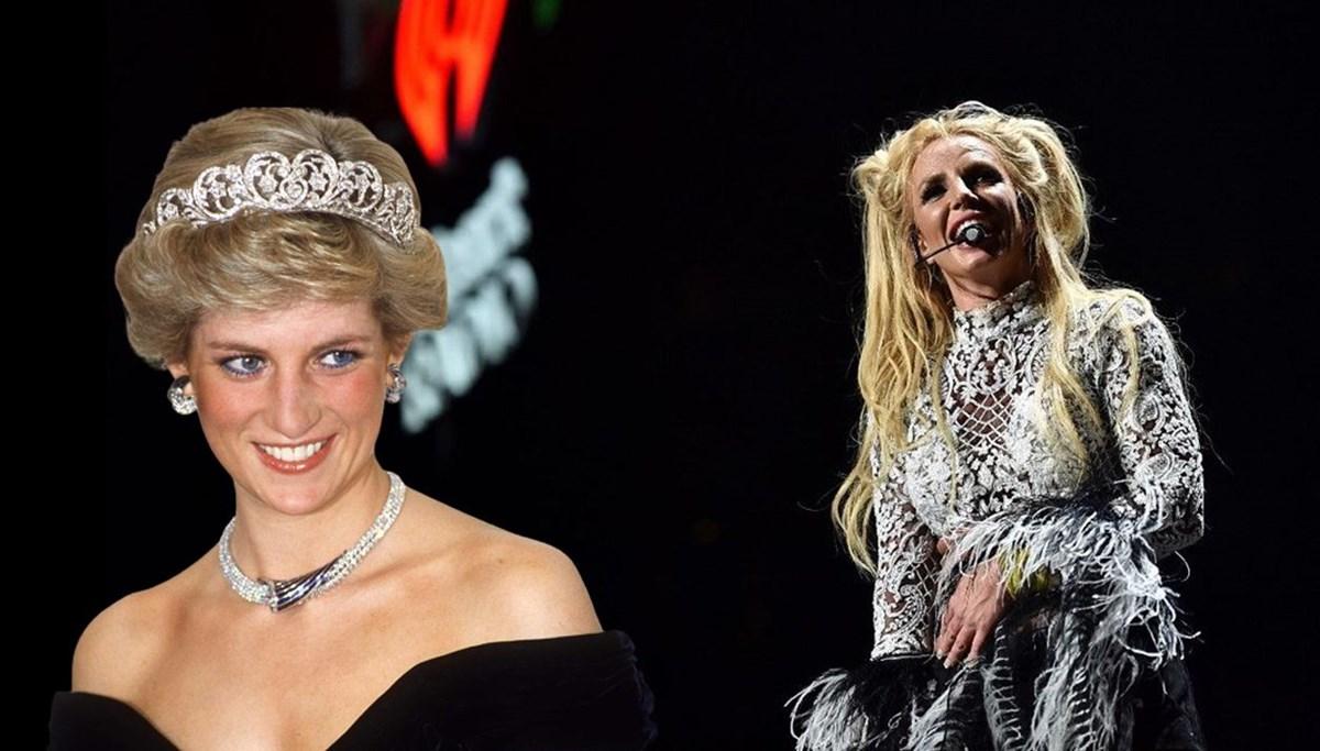 Britney Spears, Prenses Diana'yı övdü: Gücünden habersiz saf bir dahi