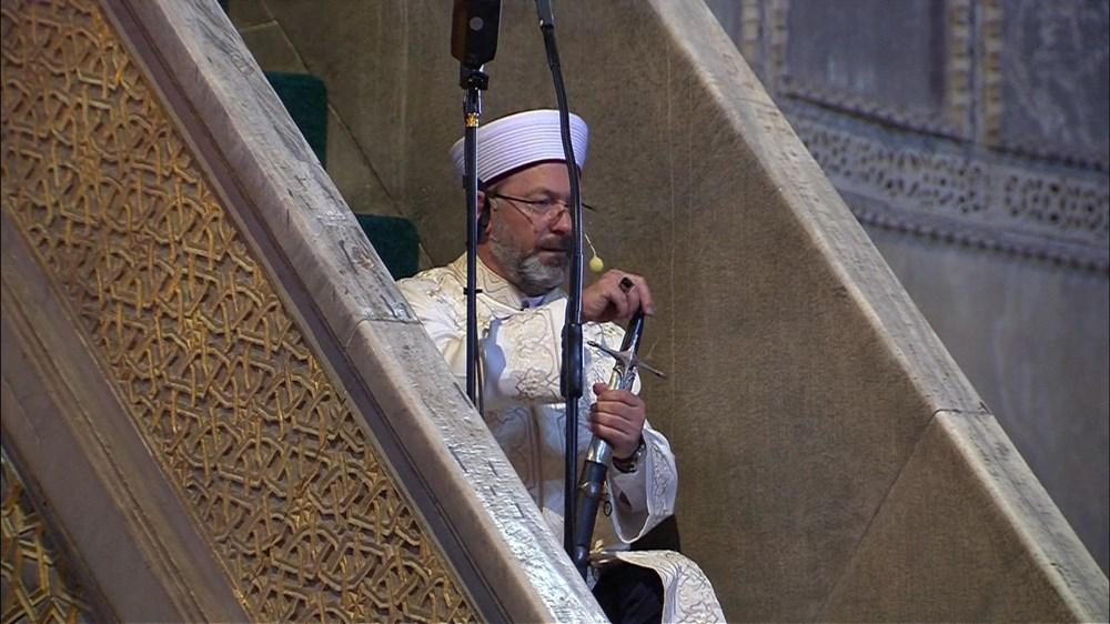 Ayasofya-i Kebir Camii Şerifi ibadete açıldı (Ayasofya'da 86 yıl sonra ilk namaz) - 4