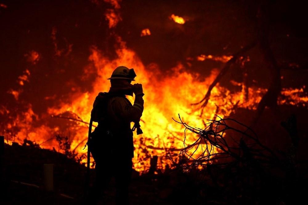 California'da yangınlar bitmiyor - 5