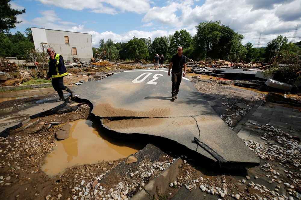 Almanya'da sel felaketi: Ölü sayısı 100'ü aştı - 8