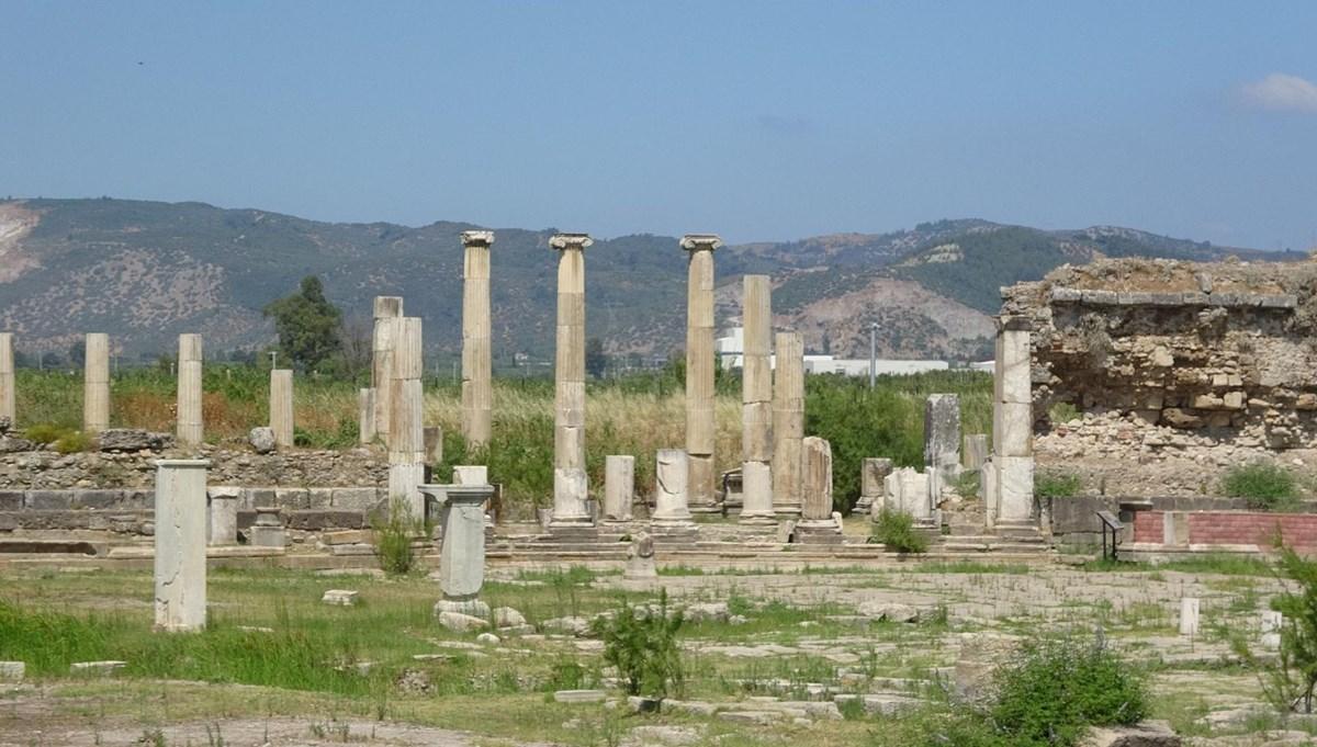 Magnesia Antik Kenti'nde hedef 'Zeus Tapınağı'nı gün yüzüne çıkarmak