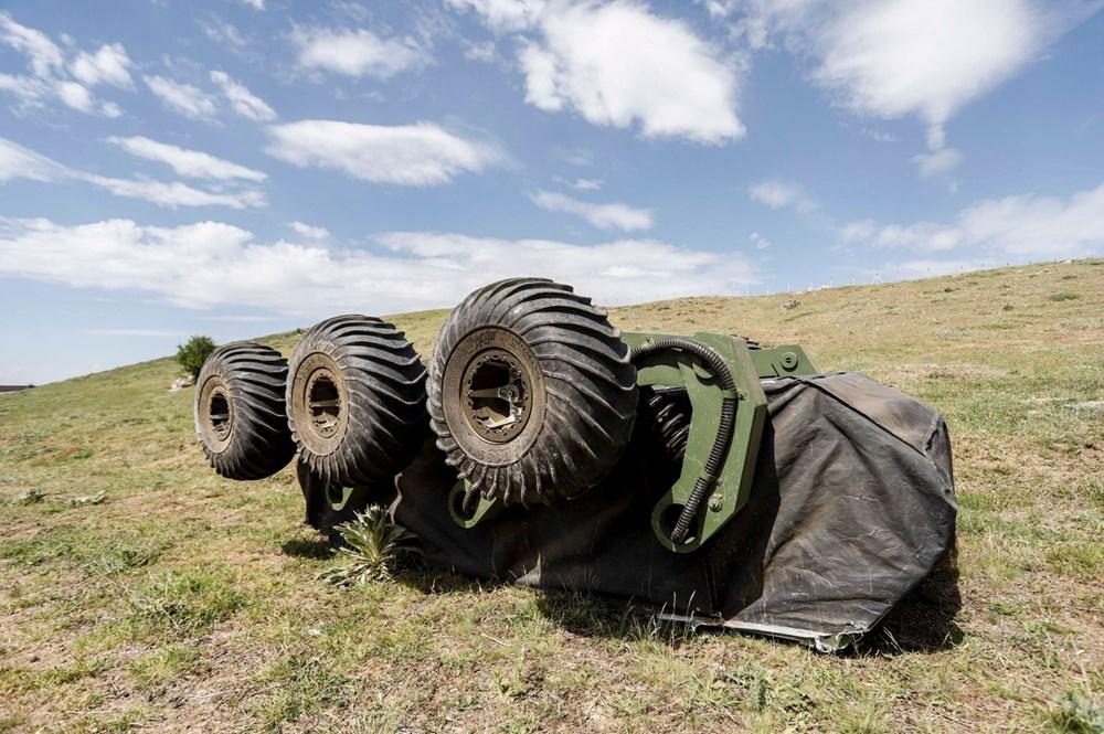 Dijital birliğin robot askeri Barkan göreve hazırlanıyor (Türkiye'nin yeni nesil yerli silahları) - 124