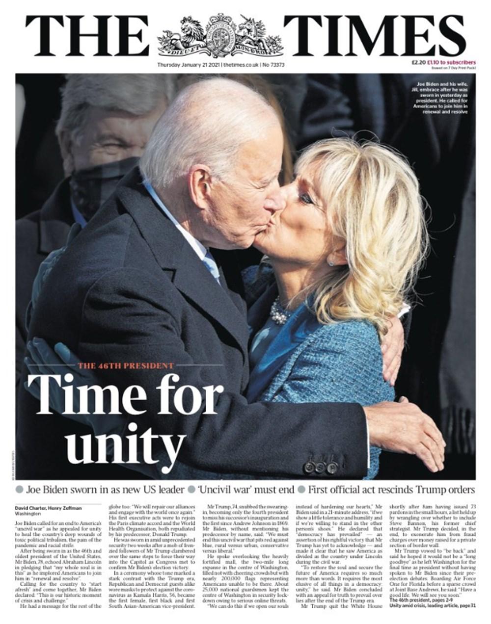 Dünya manşetlerinde Joe Biden: ABD'nin kurtuluşu - 2