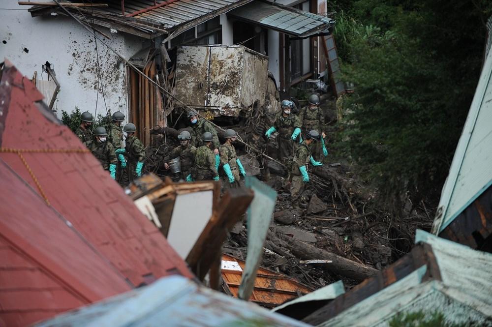 Japonya'daki sel felaketi: Ölü sayısı 7'ye yükseldi - 16