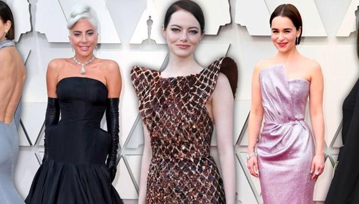 91. Oscar Ödül Töreni'nin kırmızı halısında şıklık yarışı