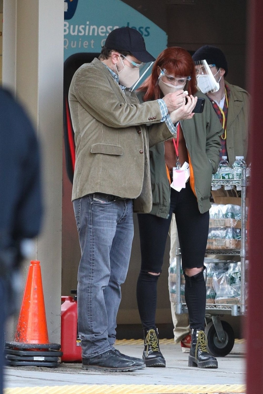 Jennifer Lawrence, Don't Look Up setinde kaza geçirdi - 8