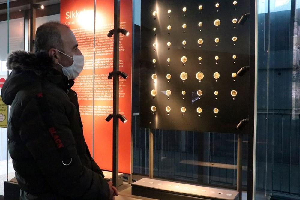 Hatay'da beş dönemin izlerini taşıyan Necmi Asfuroğlu Arkeoloji Müzesi ziyaretçilerini zaman yolculuğuna çıkarıyor - 14