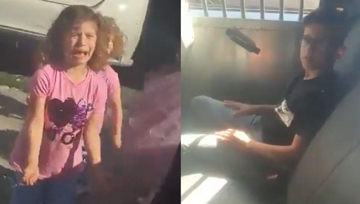 İsrail polisi 10 yaşındaki çocuğu gözaltına aldı