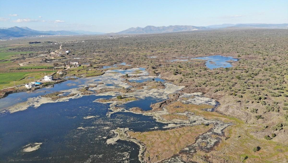Hatay'da volkanik Haydarlar Gölü turizme kazandırılacak