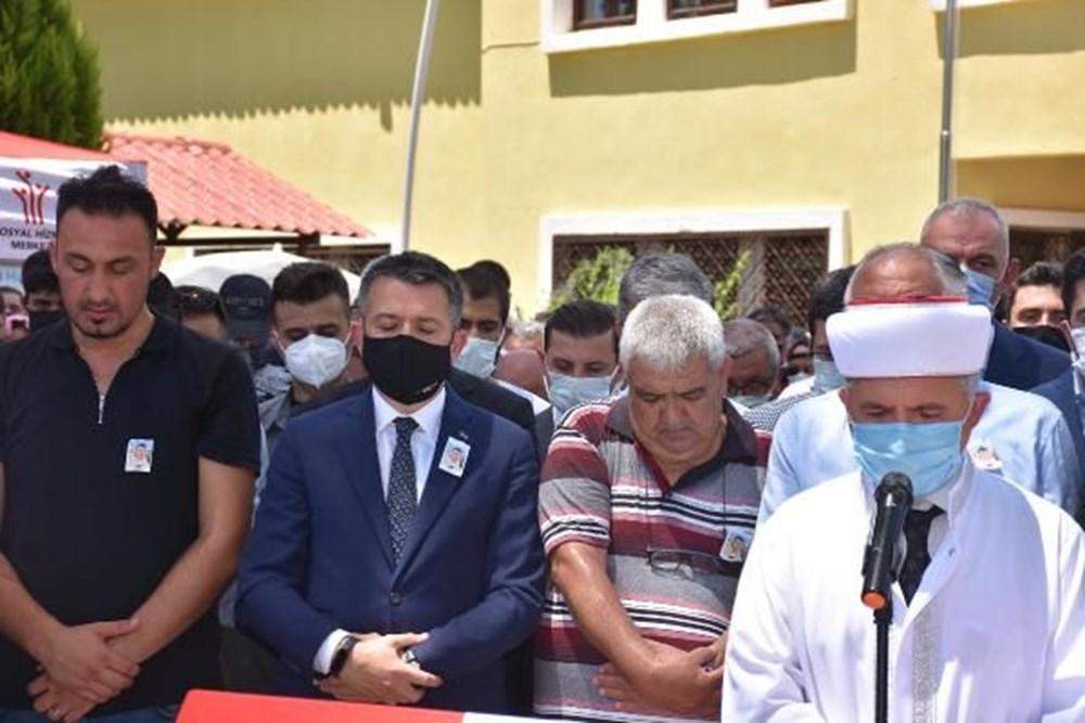 Muğla'da 'orman şehidi' törenle son yolculuğuna uğurlandı - 28