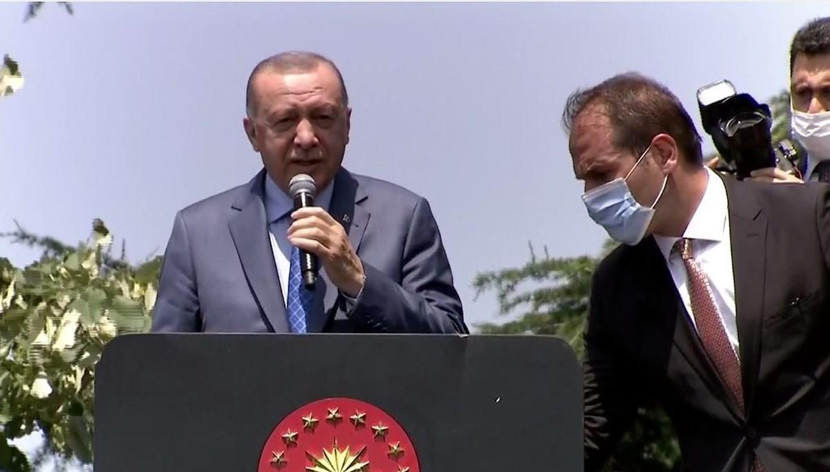 SON DAKİKA HABERİ: Cumhurbaşkanı Erdoğan'dan Tank Palet açıklaması