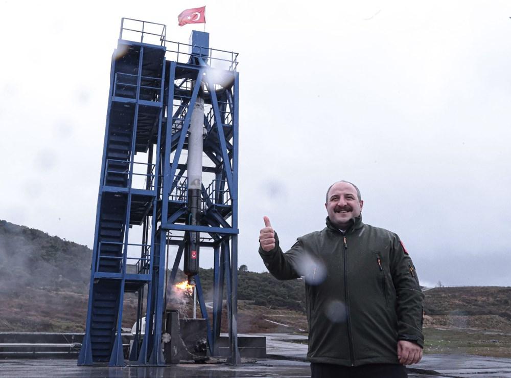 Milli Uzay Programı: Yerli roket motoru testi geçti - 21