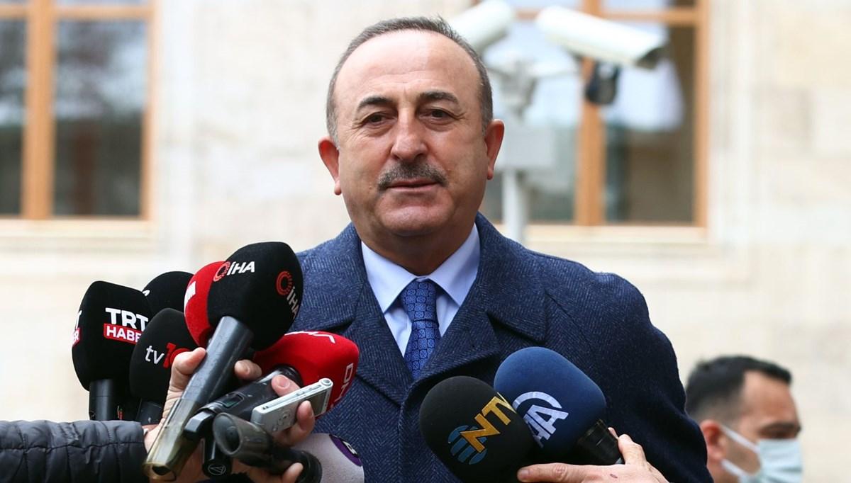 Çavuşoğlu: Gazze'de yaşananların tek sorumlusu İsrail'dir