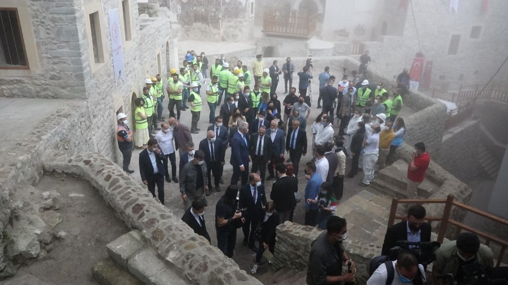 Sümela Manastırı 5 yıl sonra ziyarete açıldı - 9