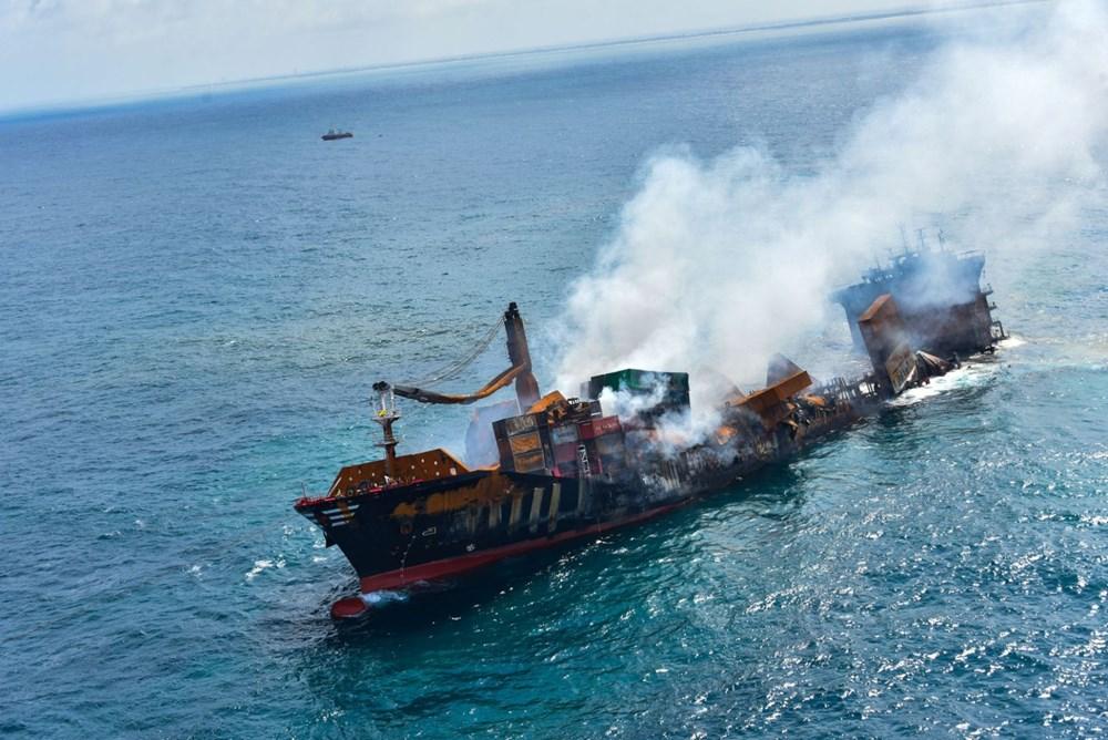 Kimyasal madde taşıyan gemi battı: Sri Lanka çevre felaketiyle karşı karşıya - 8
