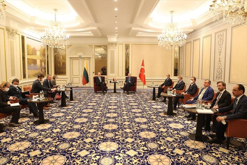 Cumhurbaşkanı Erdoğan Brüksel'de - 10