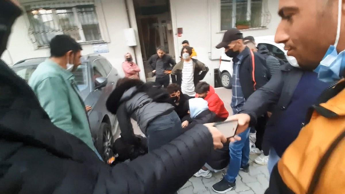 İstanbul Esenyurt'ta taciz iddiasına mahalleliden dayak