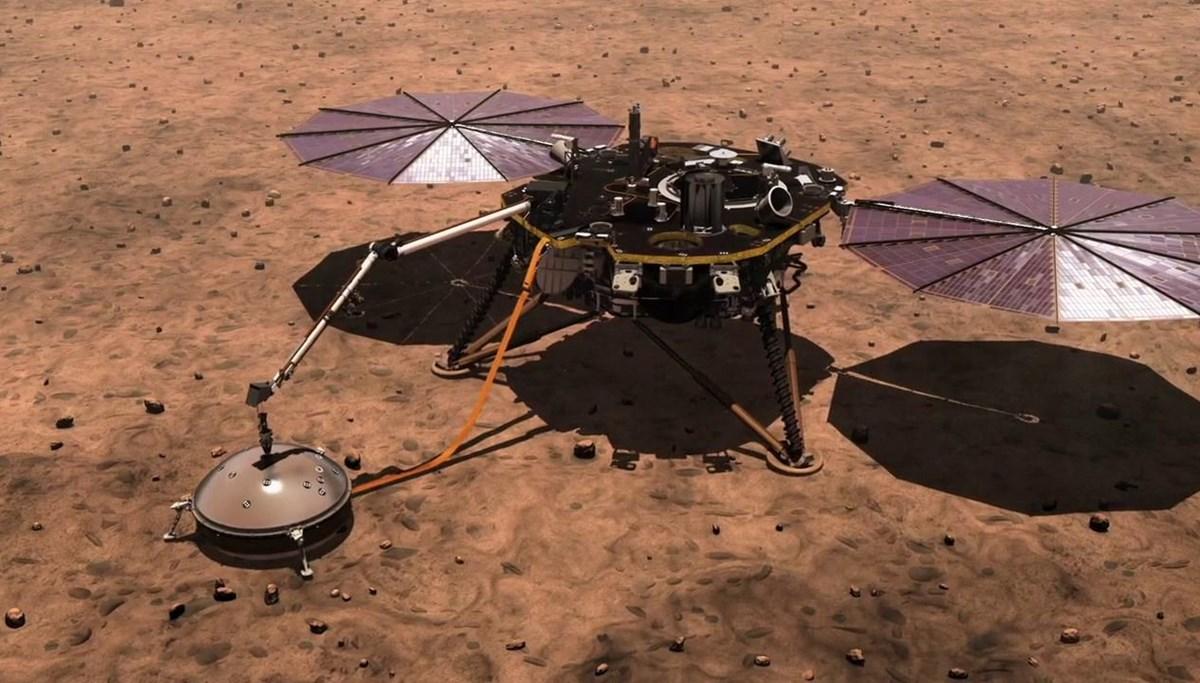 NASA'nın InSight aracından yeni keşif: Mars'ın çekirdeğinin boyutu ilk kez ölçüldü