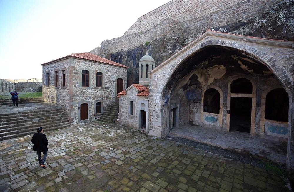 Trabzon'da restorasyonu tamamlanan Kızlar Manastırı ziyarete açıldı - 19