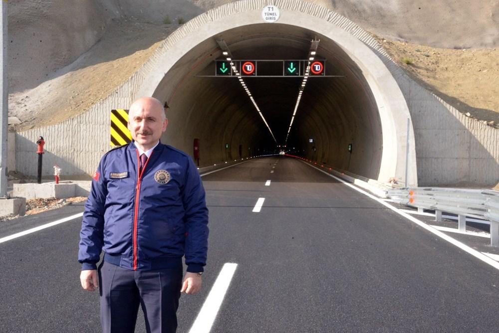 11 tünelli Kahramanmaraş-Göksun yolu açıldı: Süre 39 dakika kısalacak - 5