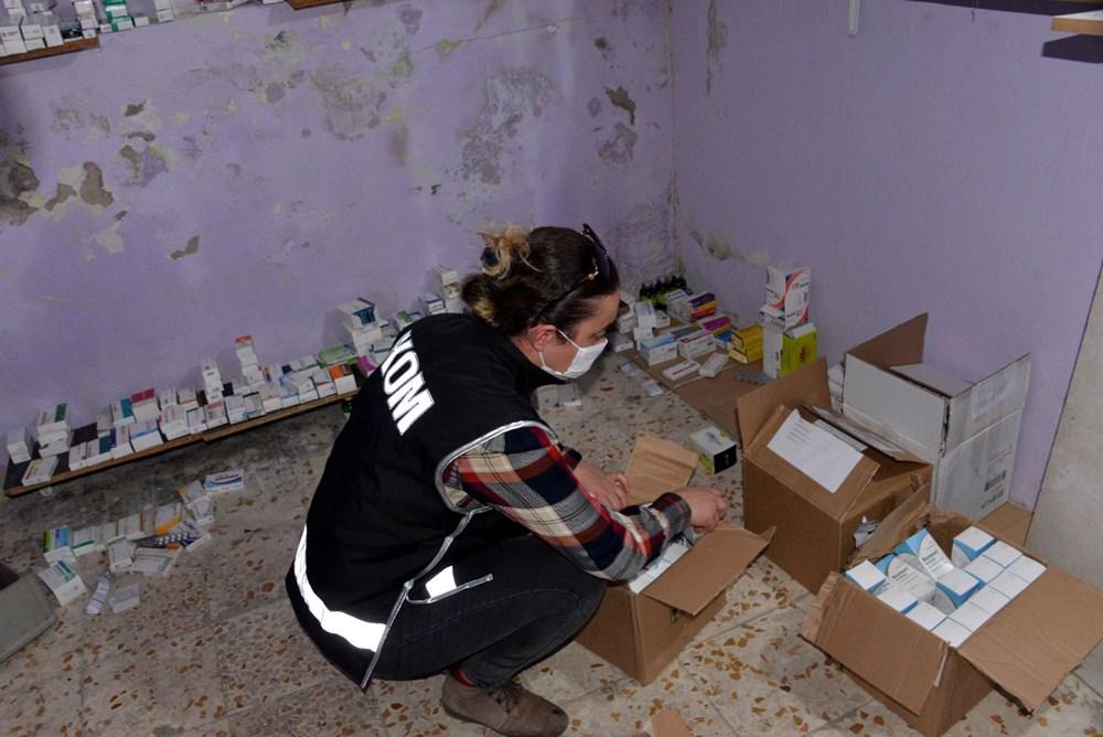 Suriyelilerin işlettiği 6 kaçak kliniğe polis baskını - 2