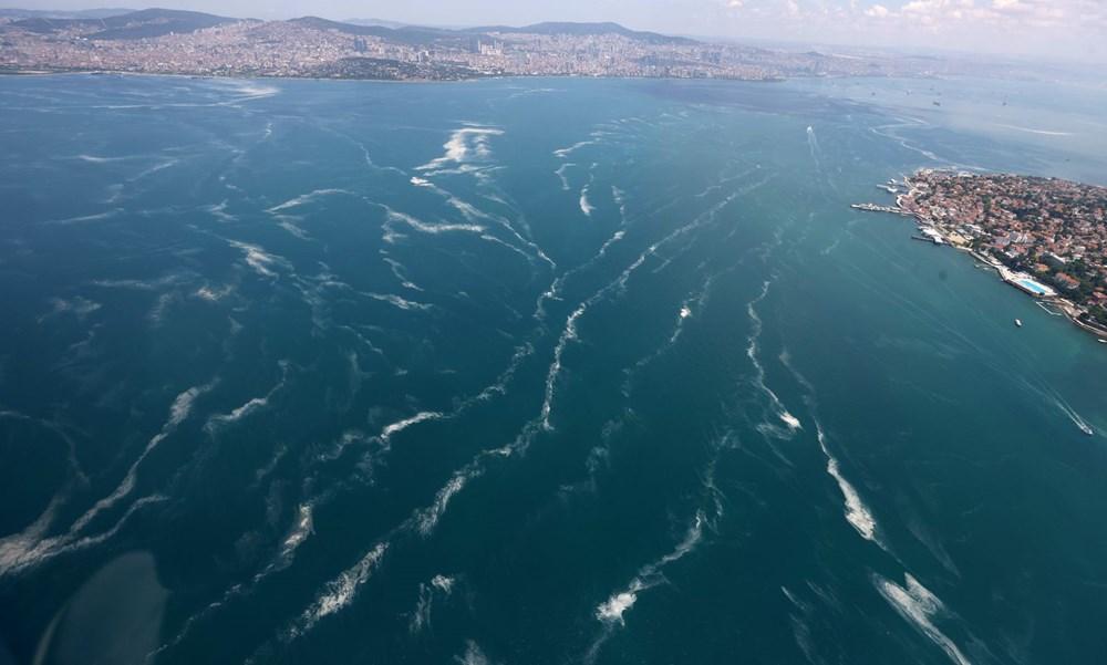 Müsilaj havadan görüntülendi: Deniz salyası her yerde - 16