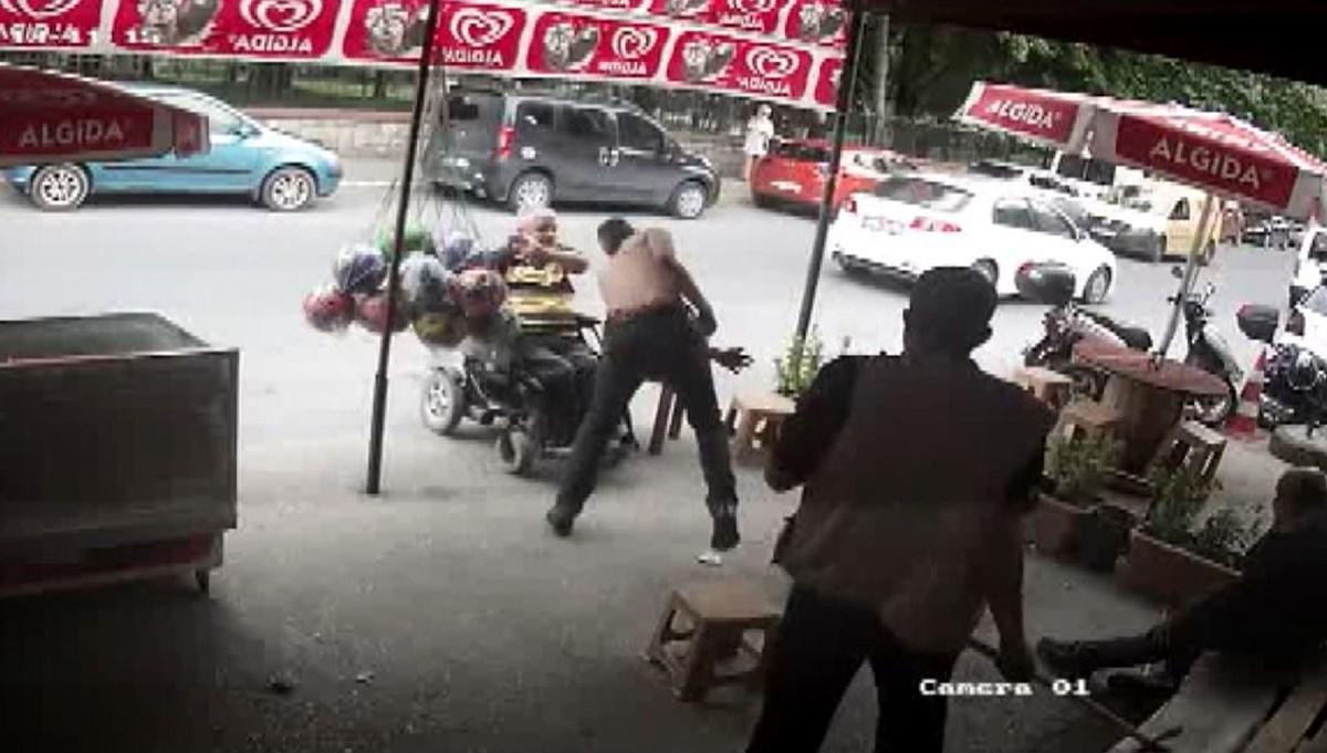 SON DAKİKA HABERİ: Engellileri döven saldırgan tutuklandı