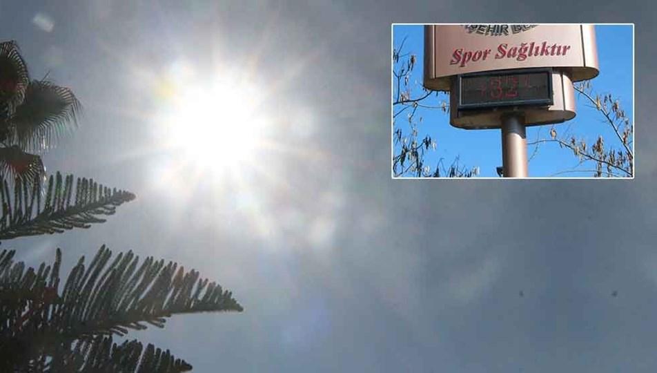 Adana'da termometreler 32 dereceyi gösterdi ile ilgili görsel sonucu