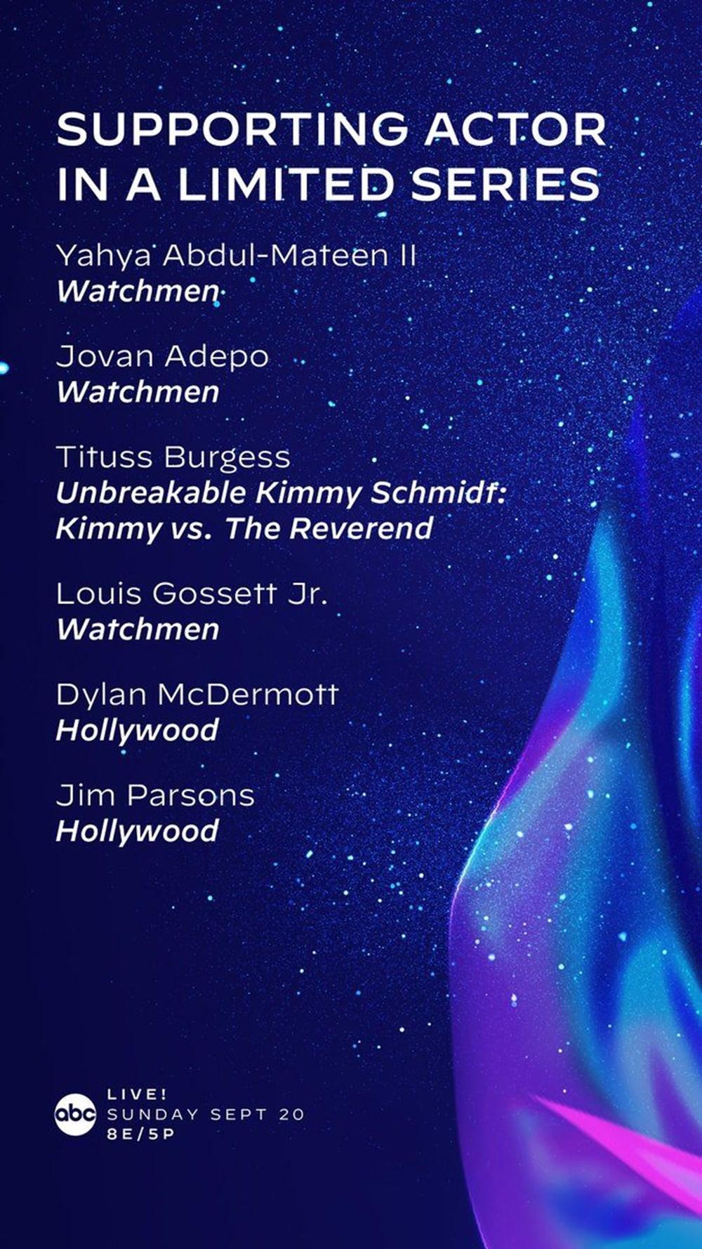 72. Emmy Ödülleri 2020 adayları belli oldu - 20
