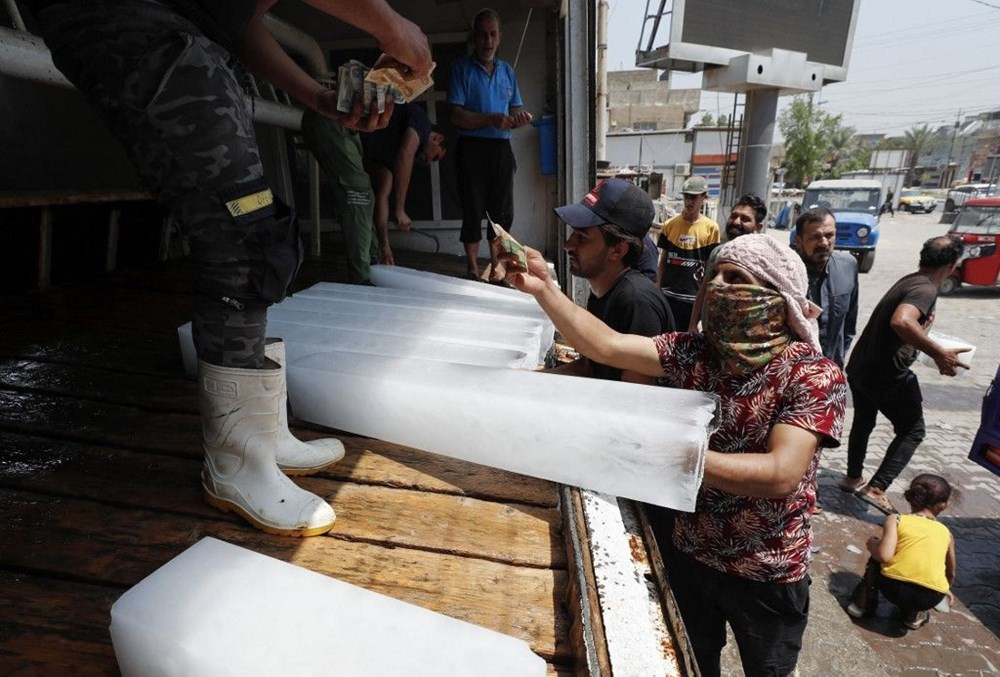 Temperature exceeded 50 degrees in the shade in Iraq: Ice demand exploded - 1