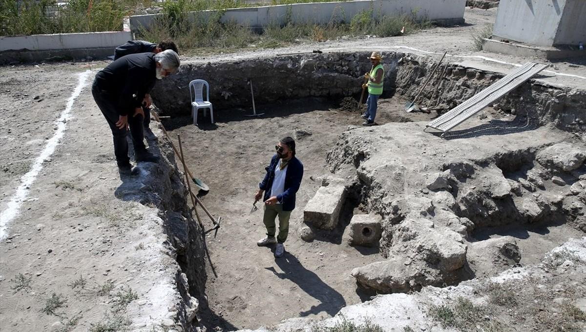 Sivas'taki Kale Projesi kazılarında Selçuklu sarayı izlerine rastlandı