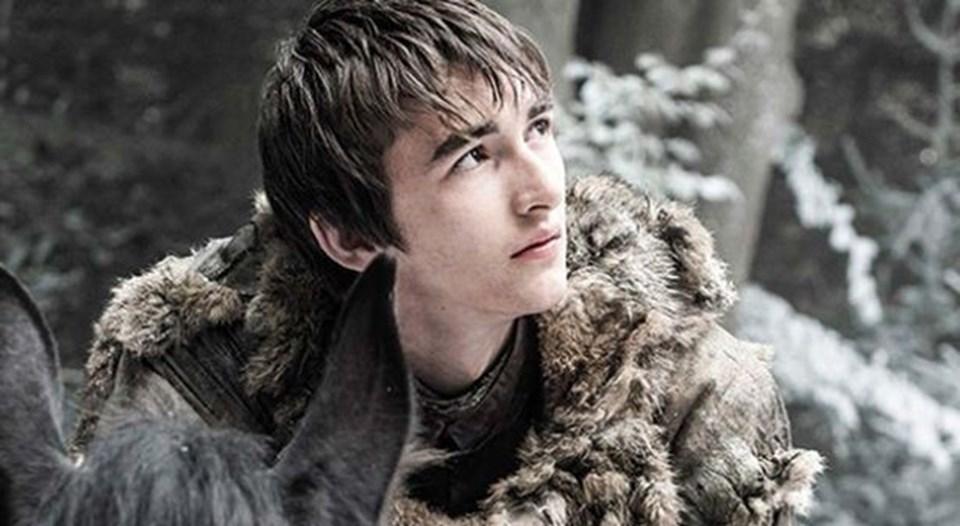 En son 4'üncü sezonun final bölümünde yer alan Bran Stark (Isaac Hempstead-Wrigh) yeni görüntüsüyle seyirciyi şaşırttı.