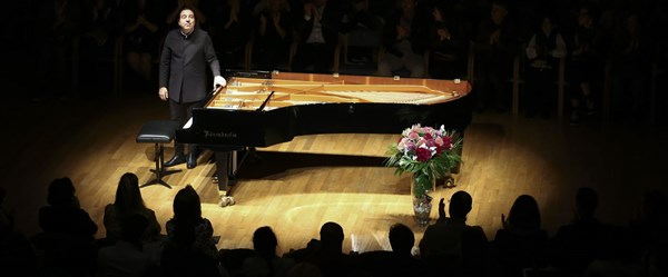 Fazıl Say piyano resitali verdi
