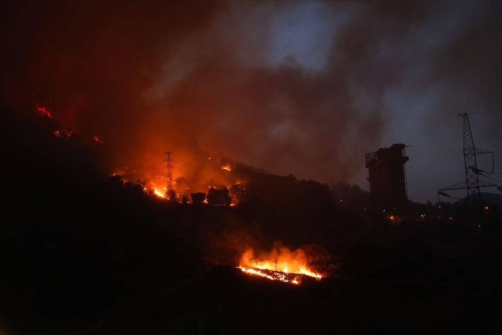 Milas'ta yangın bölgesindeki vatandaşlar tahliye ediliyor - 7