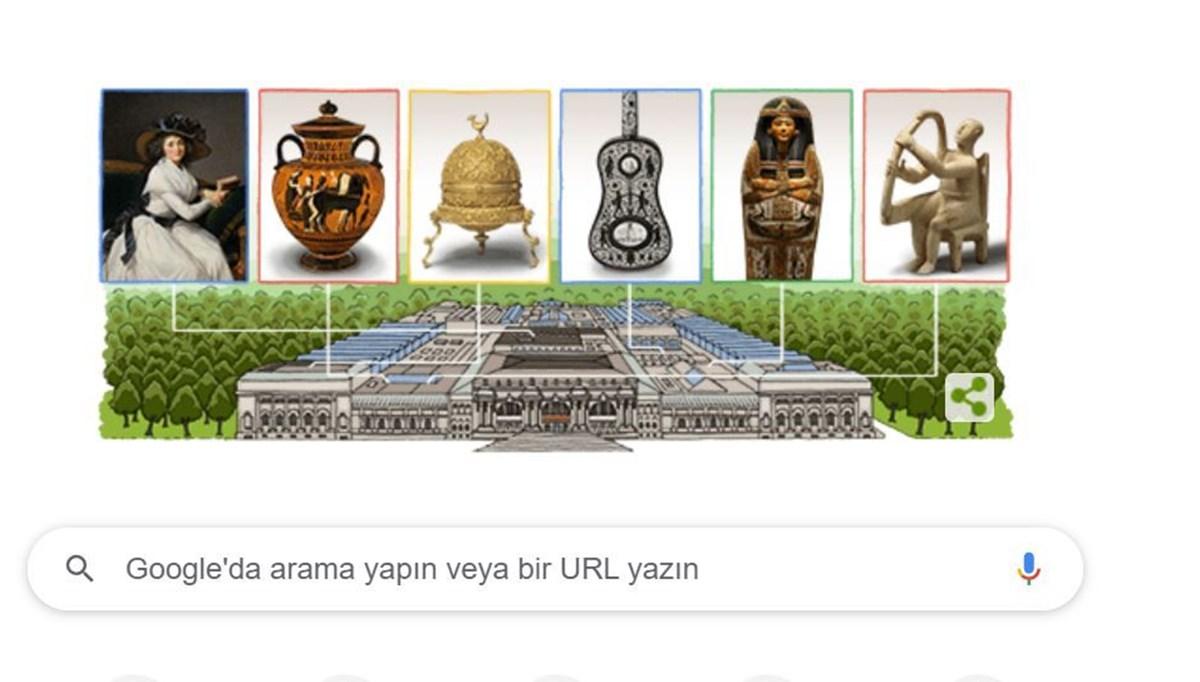 Google, 'Metropolitan Museum of Art'ın 151. yılı için 'Doodle' hazırladı