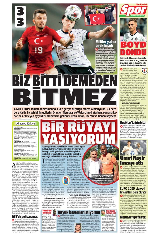 Günün spor manşetleri (8 Ekim 2020) - 16