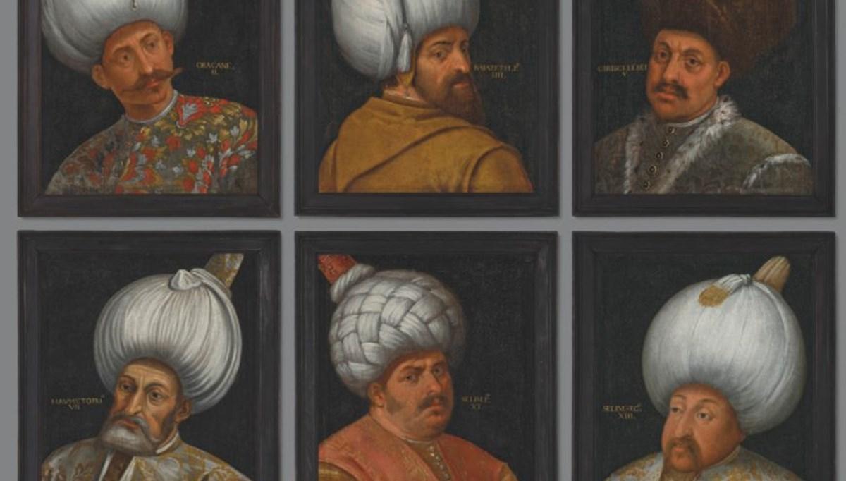 İngiltere'de 6 Osmanlı padişahının portreleri açık artırmayla satılacak