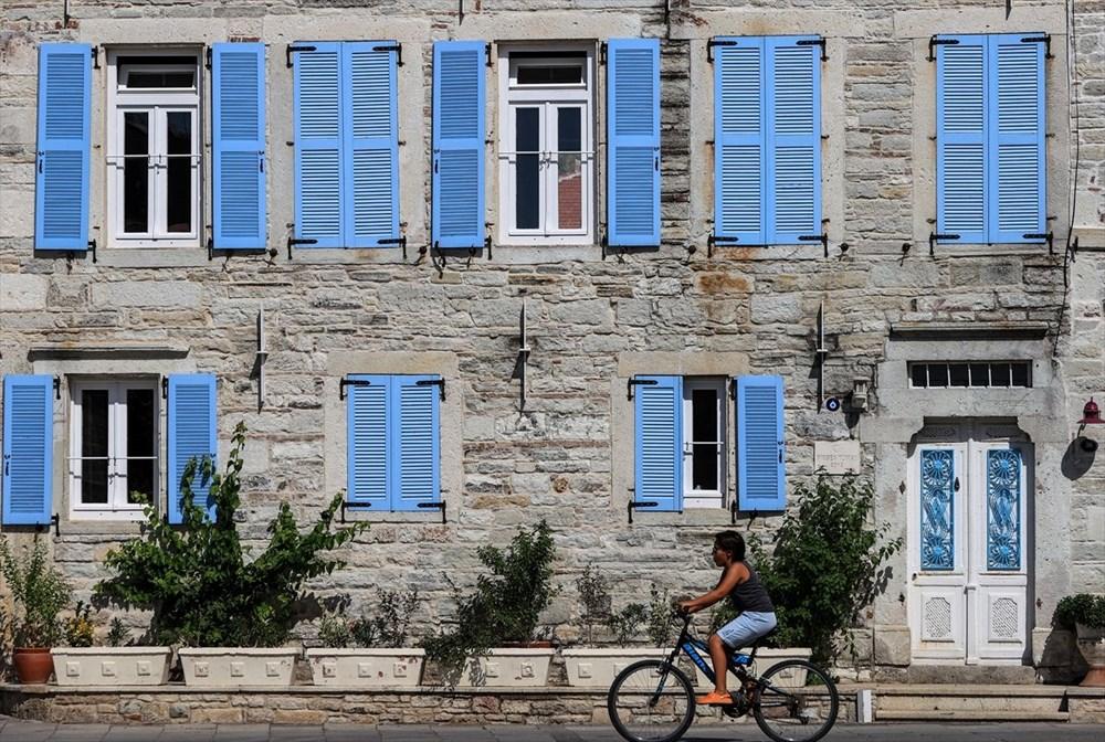 Foça'nın asırlık taş evleri yıllara meydan okuyor - 2
