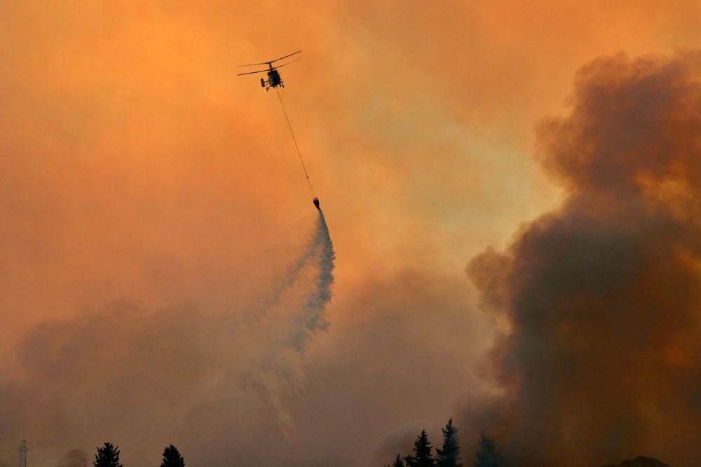 Adana'da orman yangını: 8 köy boşaltıldı - 18