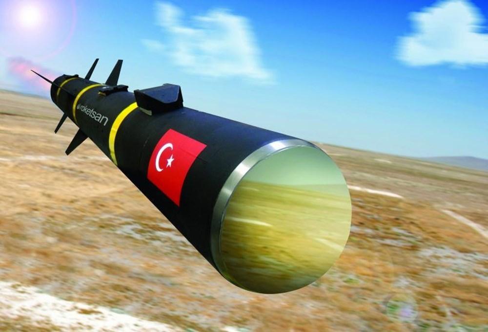 TSK'nın yeni roketatarı 12'den vurdu - 252